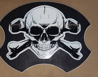 Skull and Crossbones 2 Guitar Wall Hanger