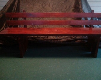 Red Oak Bench