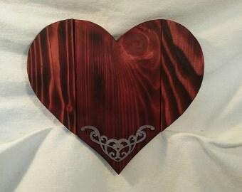Adorable heart wall plaque