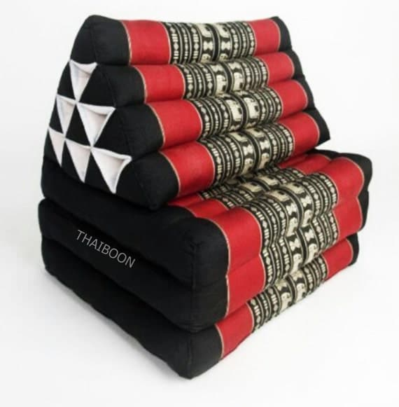 Thai Triangle Pillow Cushion Day Bed Organic Kapok100