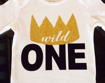Wild One - Birthday shirt