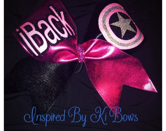 Backspot i Backspot Stunt Team Stunt Group Captain America Cheer Bow