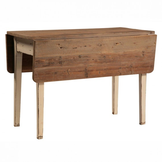 Used Wood Kitchen Table With Leaf
