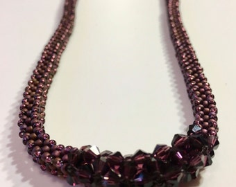 Berry Crystal Delight Necklace