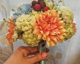 IN STOCK Wedding bouquet Artificial flower bouquet Bridal bouquet