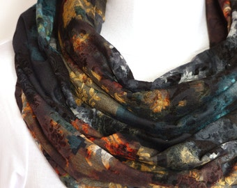 Color Rich Milano Jersey - Snood Scarf - Multicolored