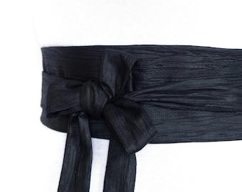 Haute Couture Fabric - Reversible Obli waist Belt - Cotton