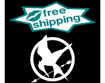 MOCKINGJAY HUNGER GAMES Decal / Vinyl Sticker High Quality Window / Wall Art Decal / Car Stickers