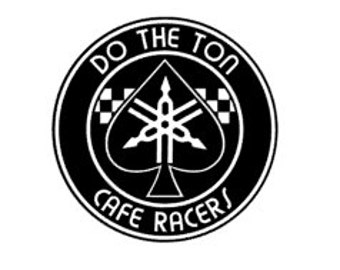 DO THE TON - Yamaha Tuning Forks - Quality Vinyl Decal; Car Decal, Motorcycle Decal, Helmet Decal, Yeti Decal, Tumbler Decal, Fast Shipping!
