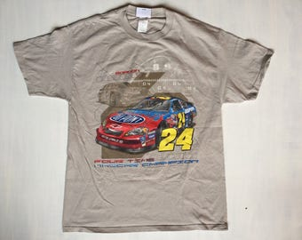 Jeff Gordon nascar T size large