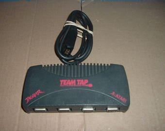 MINT Atari Jaguar System TEAM-TAP multiplayer adaptor (multi-tap for use on Jaguar cartridge console unit), vintage collectible For Sale