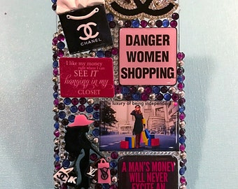 Danger women shoping - Luxury of being Independent Case Cover IPhone 6 Plus