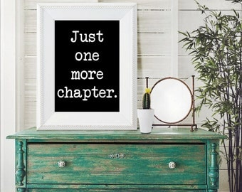 Book Lover Quote Print | Reading Quote Print | Book Quote | Reading Print | Book Lover Quote | Book Quote Print | Reader Gift | Book Lover