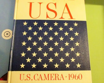 The fifty stars of the USA, us camera 1960-the worlds greatest photographer,Edward Steichen-most interesting book-h/c-1960