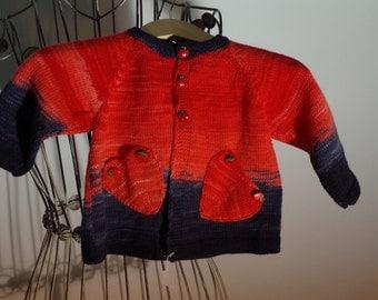 beautiful baby jacket, Merino Wool