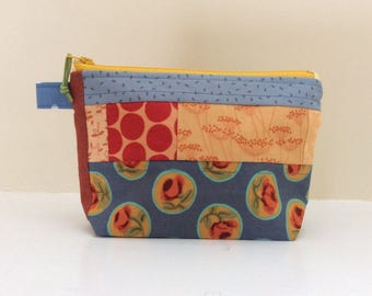 Patchwork Notion Bag: knitting, crochet or travel bag