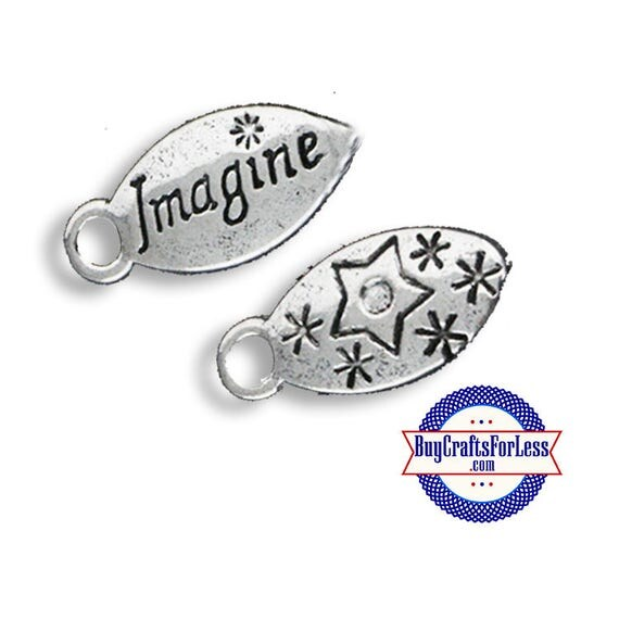 "Charms, ""Imagine"", 6 pcs +Discounts & FREE Shipping*"