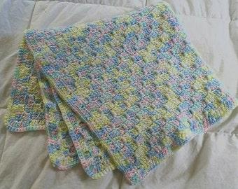 Multi-Pastel Baby Blanket