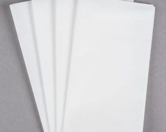 50-100 White Linen Feel Disposable Napkin, Wedding Napkins, Dinner Napkins, Wedding Supplies, Party Supplies, Napkins, Wedding