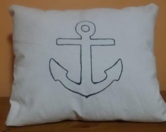 Simple Anchor Pillow