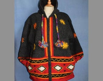 Hand crafted Wool jacket from Nepal