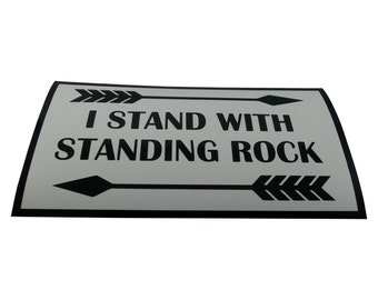 Standing Rock Magnet/Bumper Sticker