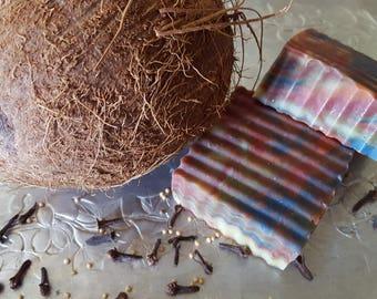 Relaxing Rainbow Coconut Milk Soap