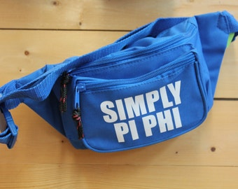 Royal Blue Simply Pi Phi