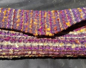 NCW Purple Sari Scrap