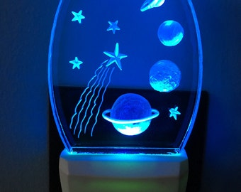 Color Changing Planets Nightlight