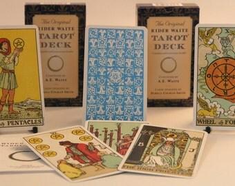 The Original Rider Waite Tarot Deck Cards and guide book