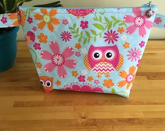Owl Fun Project Bag