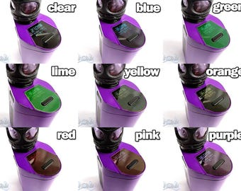 Vape Screen Protector Translucent Tint Choice of Colours for Ecig Smok GX350 350W