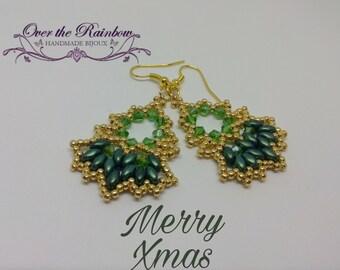 PDF - MERRY XMAS earrings