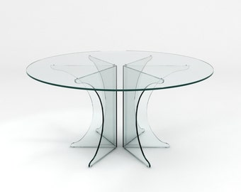 Crystal Pure - Glass Dining Table