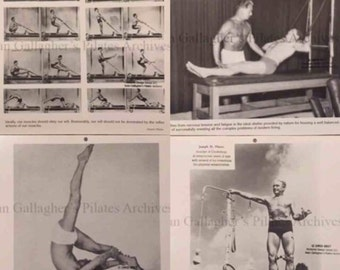 Pilates Guild 1998 Calendar Pictures Set 1