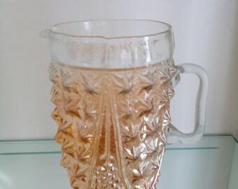 Carnival Glass Pitcher - Shalimar