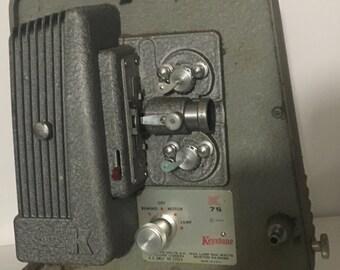 Vintage Keystone K75 8mm Projector