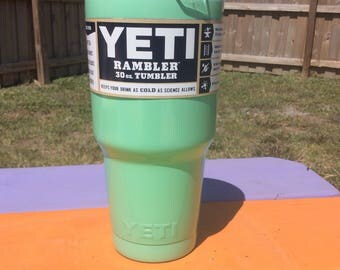 SeaFoam Green Powder Coated 30oz