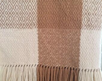 Sequoyah Indian Weavers Handmade Blanket
