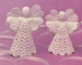 Vintage Little Angels Crochet Pattern