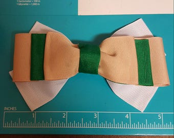 """5"""" by 3"""" Two Colored Bow"""
