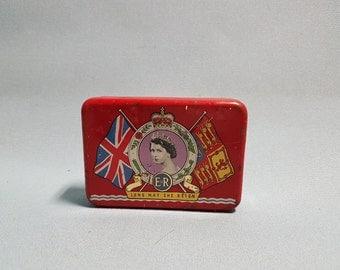 1953 Queen Elizabeth Coronation Tin