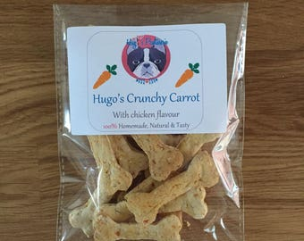 Hugo's Crunchy Biccies - With Carrot