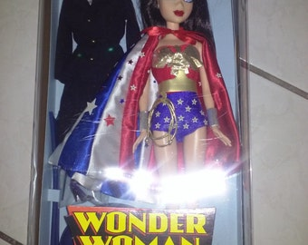 Wonder Woman Doll, Vintage Doll, Lynda Carter, Superheroes, 1970's TV, Collectable Dolls
