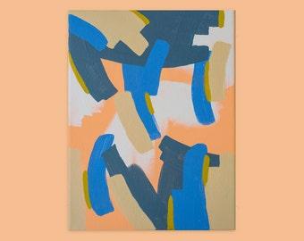 Meditation Three, Original Abstract Painting, Acrylic on Canvas