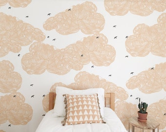 "Panel wall clouds ""Envol"""