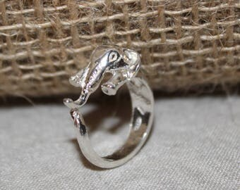 Elephant ring Silver 925