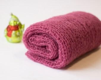Mohair baby wrap, Newborn photo prop, wrap alpaka silk,Baby Wrap Photo prop