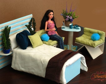 Sea Adventure  - wooden furniture for dollhouse